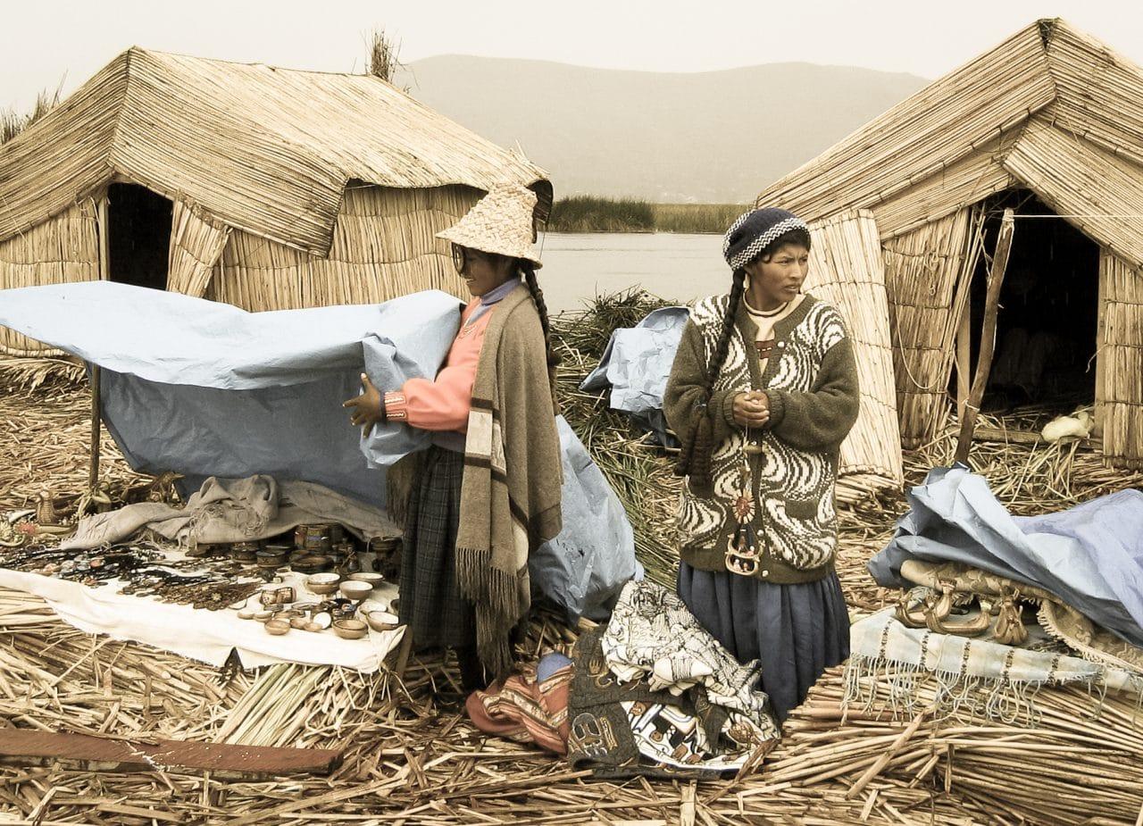 lac titicaca, pérou, uros