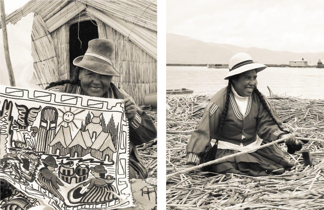 lac titicaca, pérou, uros, taquile, amantani