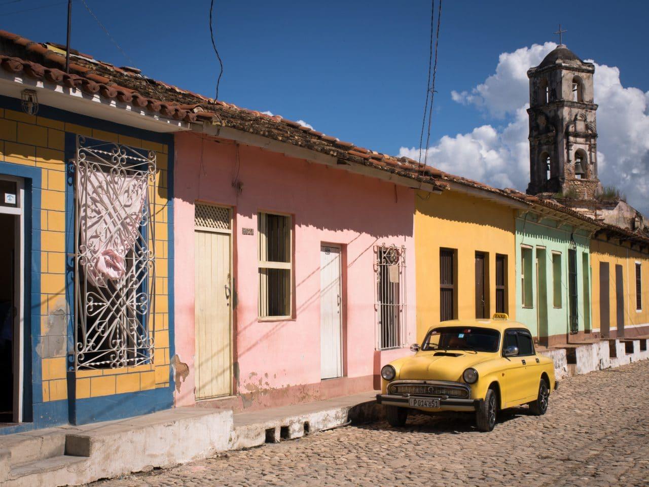 trinidad cuba images-cuba voitures anciennes-les rue de trinidad
