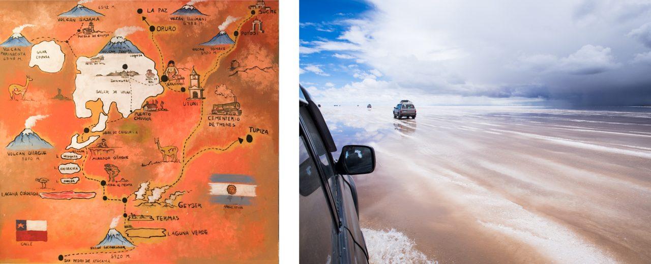 salar de uyuni-la paz altitude -bolivie voyage