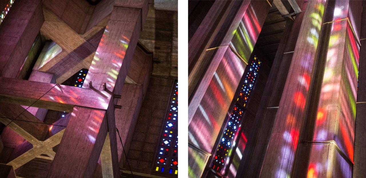 le havre, perret, église saint joseph, un été au havre, normandie, Chiharu Shiota