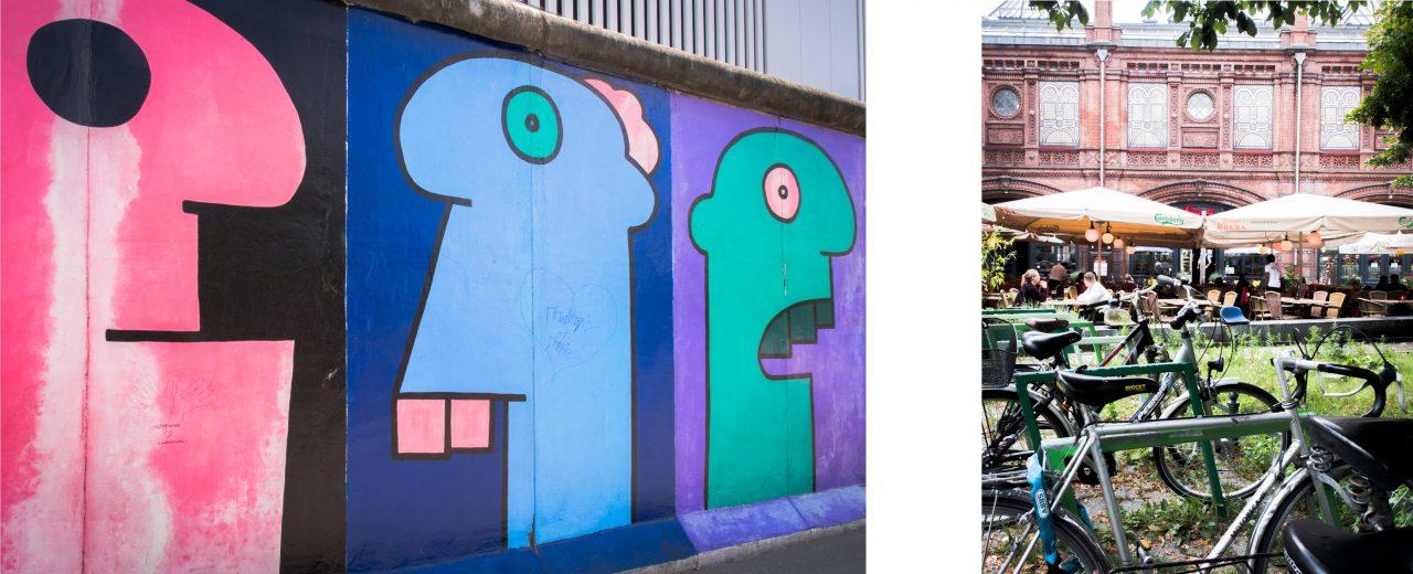 séjour berlin-allemagne-  east side gallery berlin-berlin velo