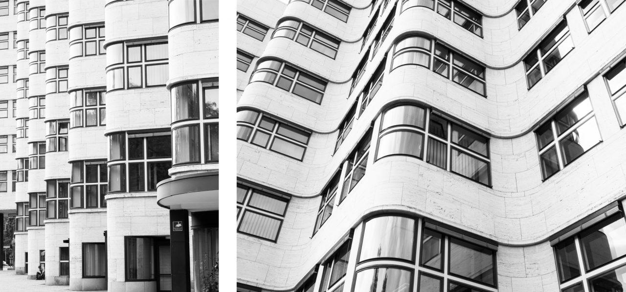 façade noir&blanc, architecture