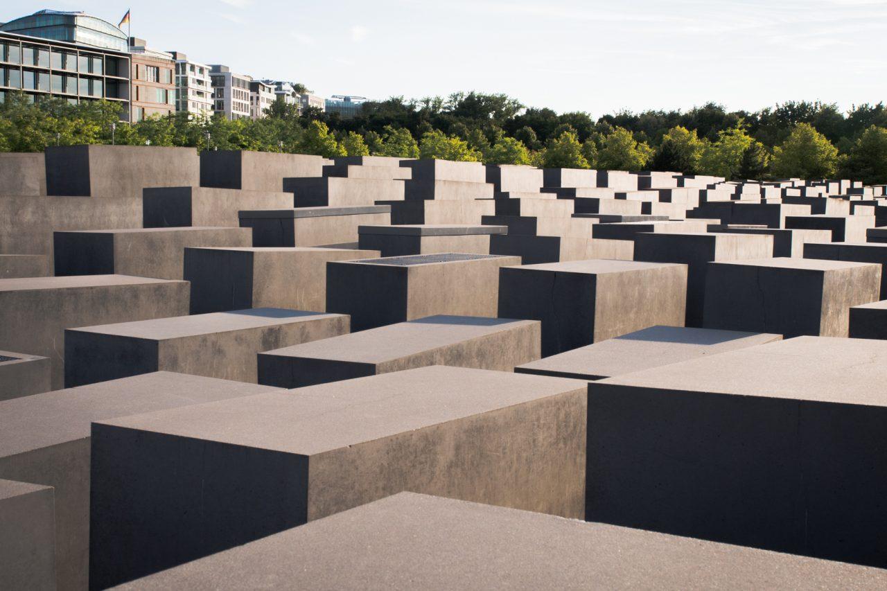 mémorial de l holocauste berlin - séjour Berlin- allemagne