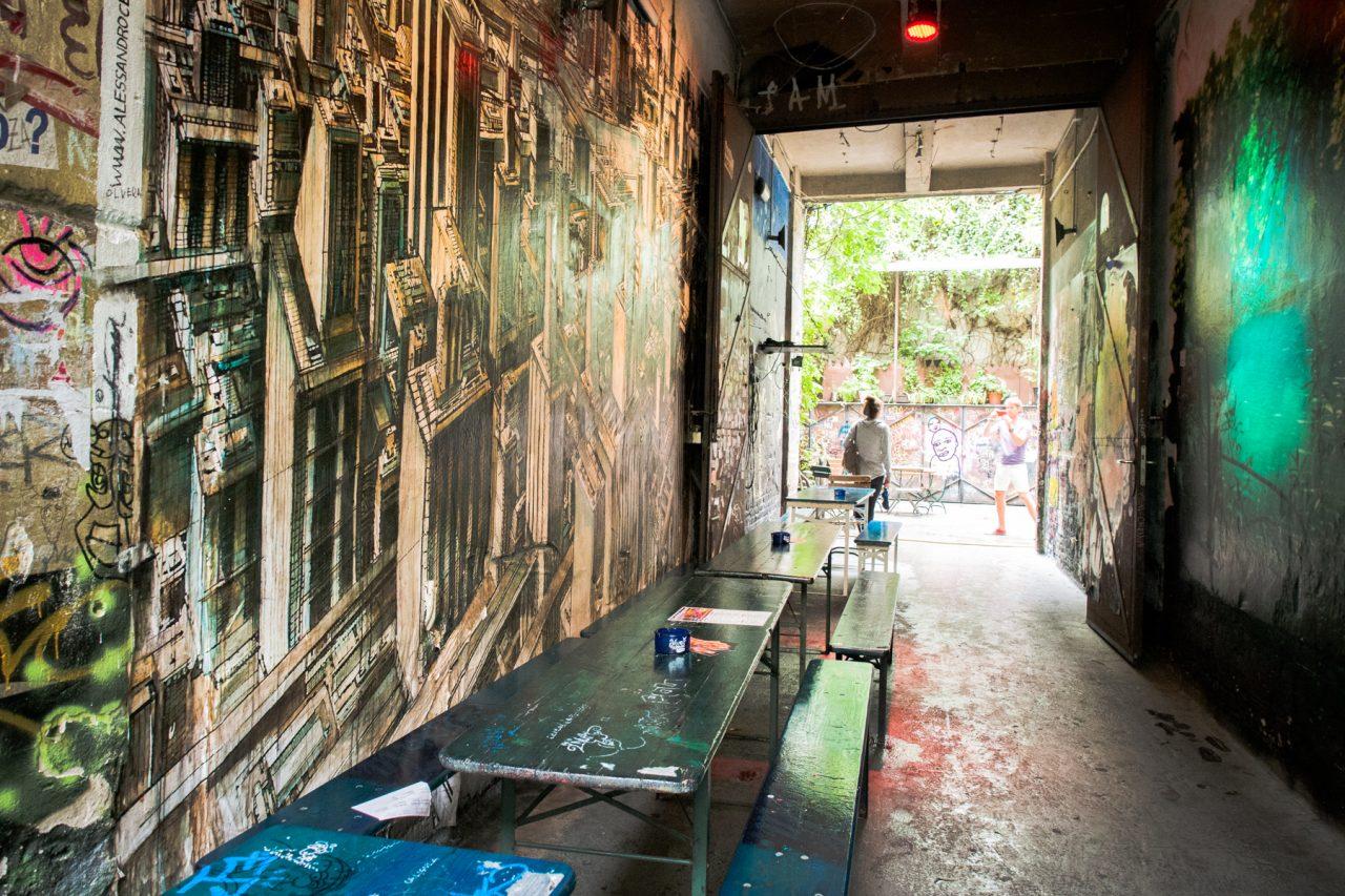 berlin, allemagne, street art, Hackesche Höfe, Haus Schwarzenberg