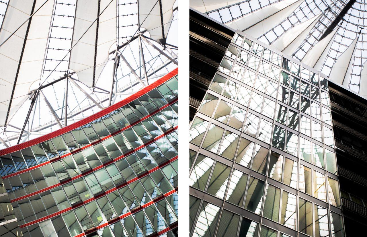 potsdamer platz berlin- Sony center Berlin- carnet voyage séjour Berlin Allemagne