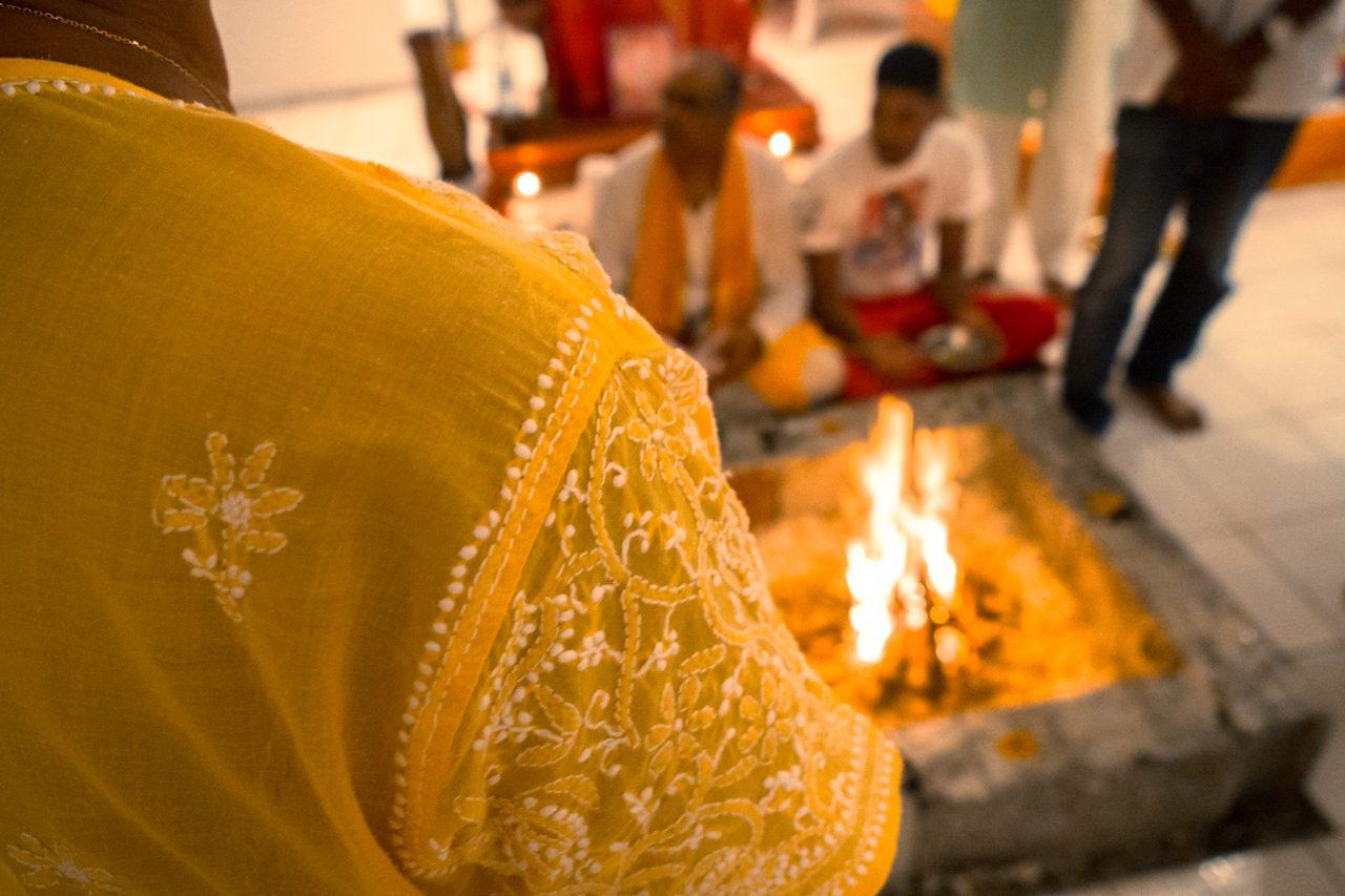 temple hindou, le moule, guadeloupe, diwali