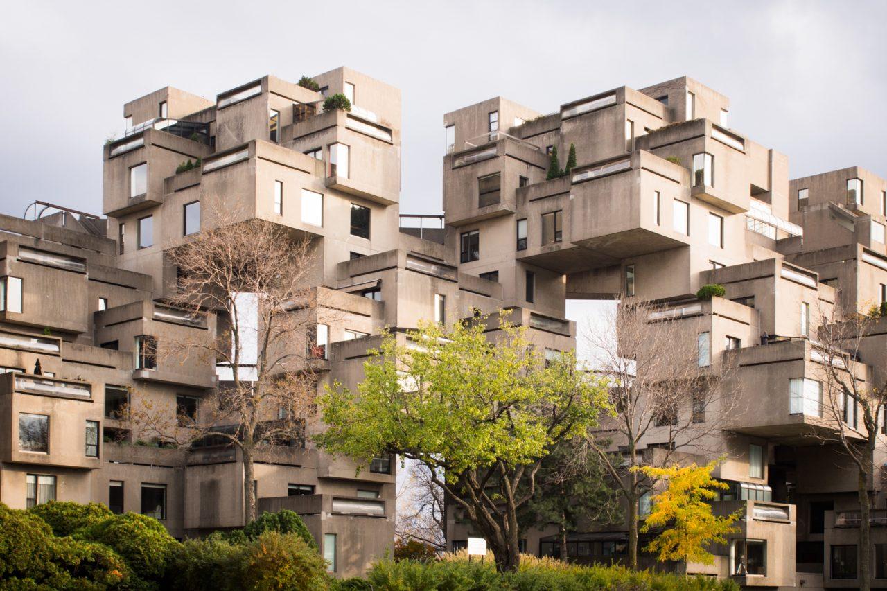 habitat 67 montréal-architecture moderne montréal-photos vieux montréal