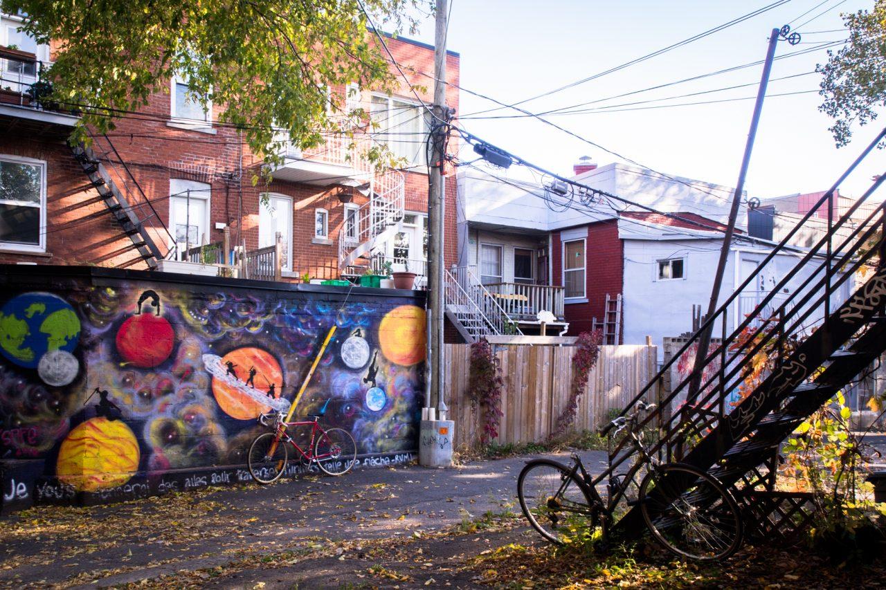 montréal photo-architecture moderne montréal-vélo urbain montréal