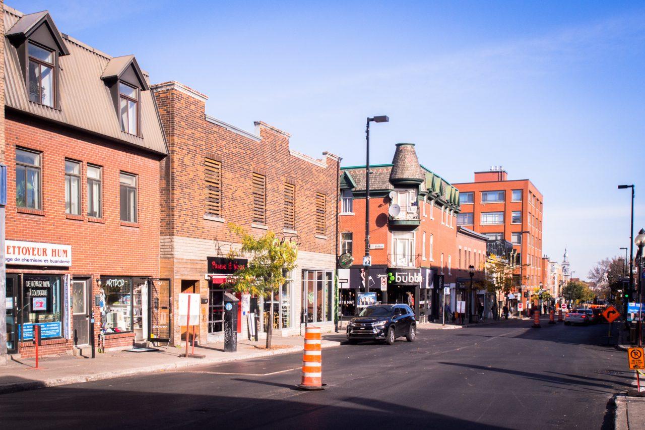séjour montréal-avenue du mont royal-les rues de montréal Quebec