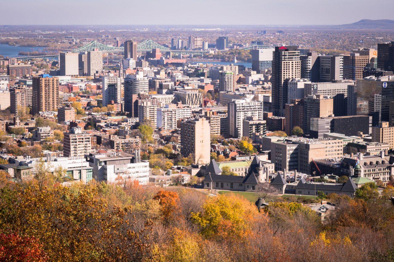 plateau mont royal Montréal - architecture moderne montréal-photo canada- séjour au canada