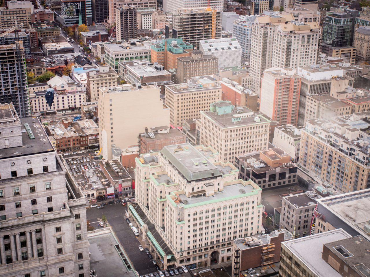 immeubles montréal-canada photos-architecture moderne montréal-point de vue montreal