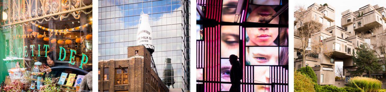 architecture moderne montréal-canada photos-séjour au québec
