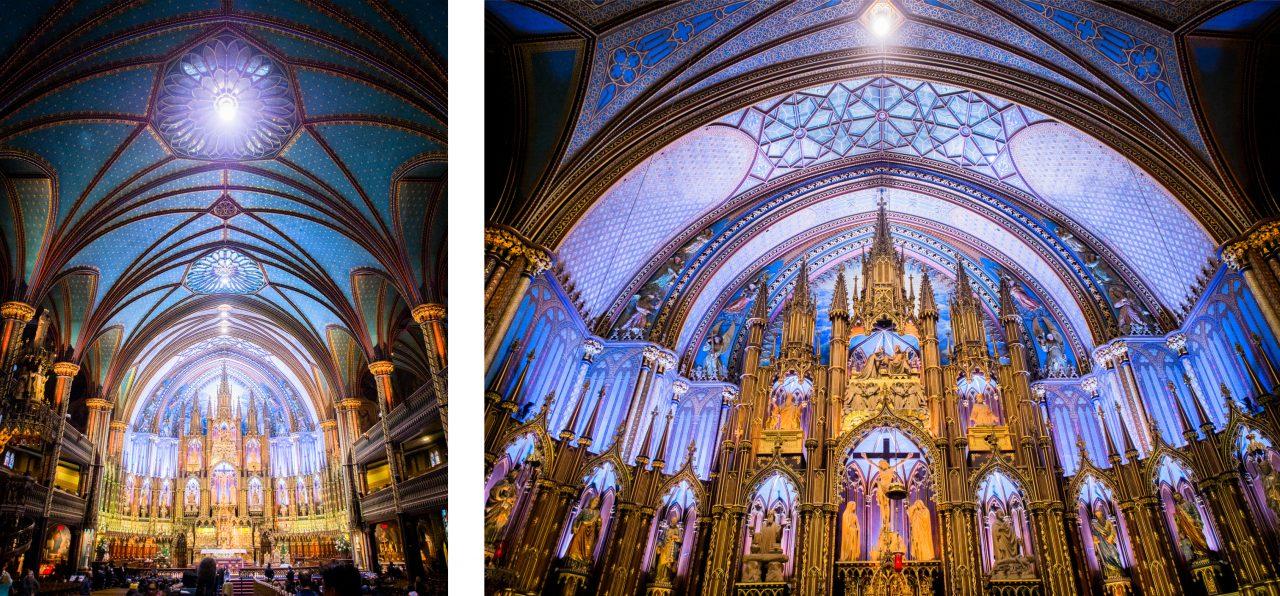 basilique notre dame de montréal-architecture montréal-monument historique montréal