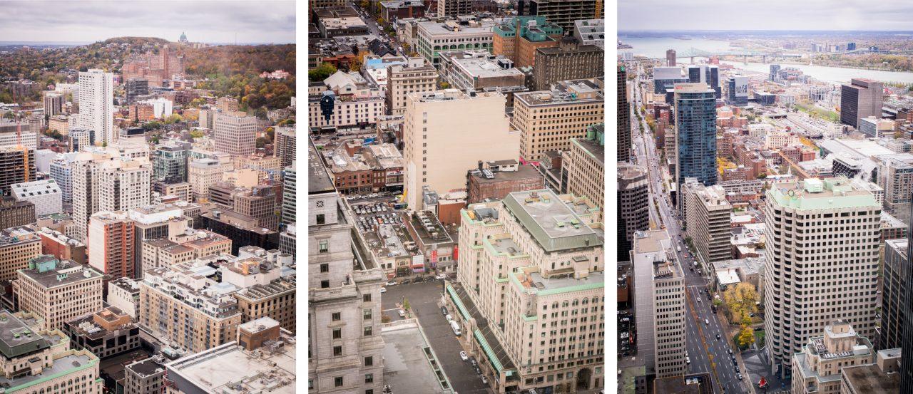 vue panoramique montréal-canada photos-architecture moderne montréal-