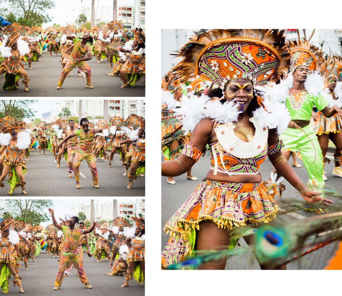 carnaval de guadeloupe-masque de carnaval guadeloupe-danseuse carnaval