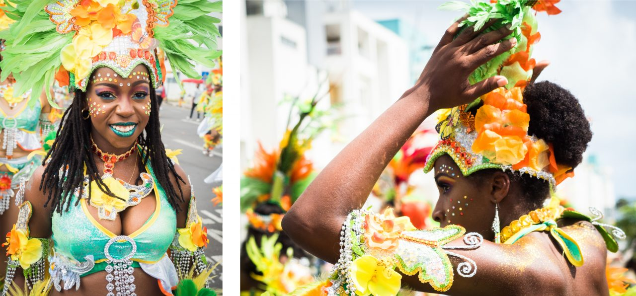 carnaval guadeloupe-maquillage carnaval guadeloupe-costume carnaval guadeloupe