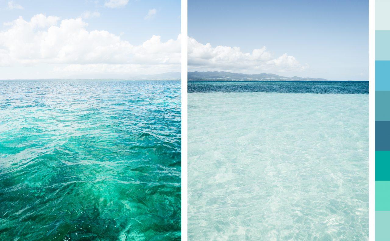 ile de caret-lagon bleu guadeloupe-lagon du grand cul de sac marin-sainte rose guadeloupe-