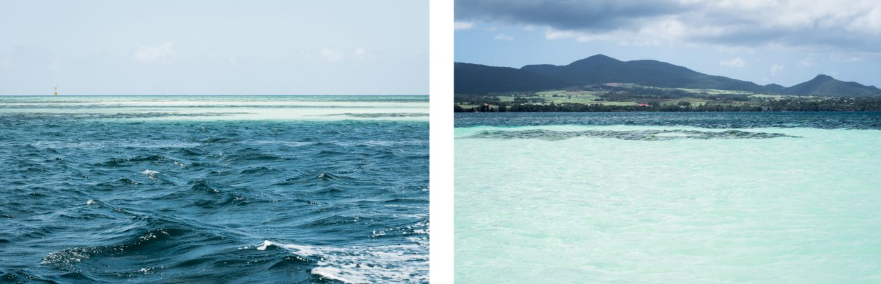 guadeloupe sainte rose-ile de caret en guadeloupe-blue lagon grand cul de sac marin