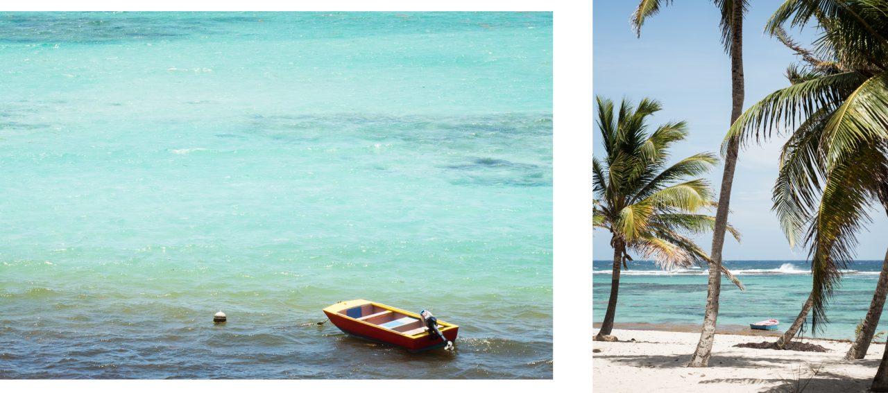 plage de guadeloupe-mer caraibes-la desirade