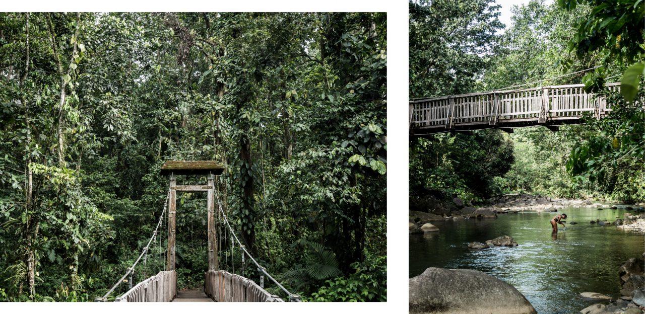 guadeloupe cascade-riviere guadeloupe-randonnée en guadeloupe