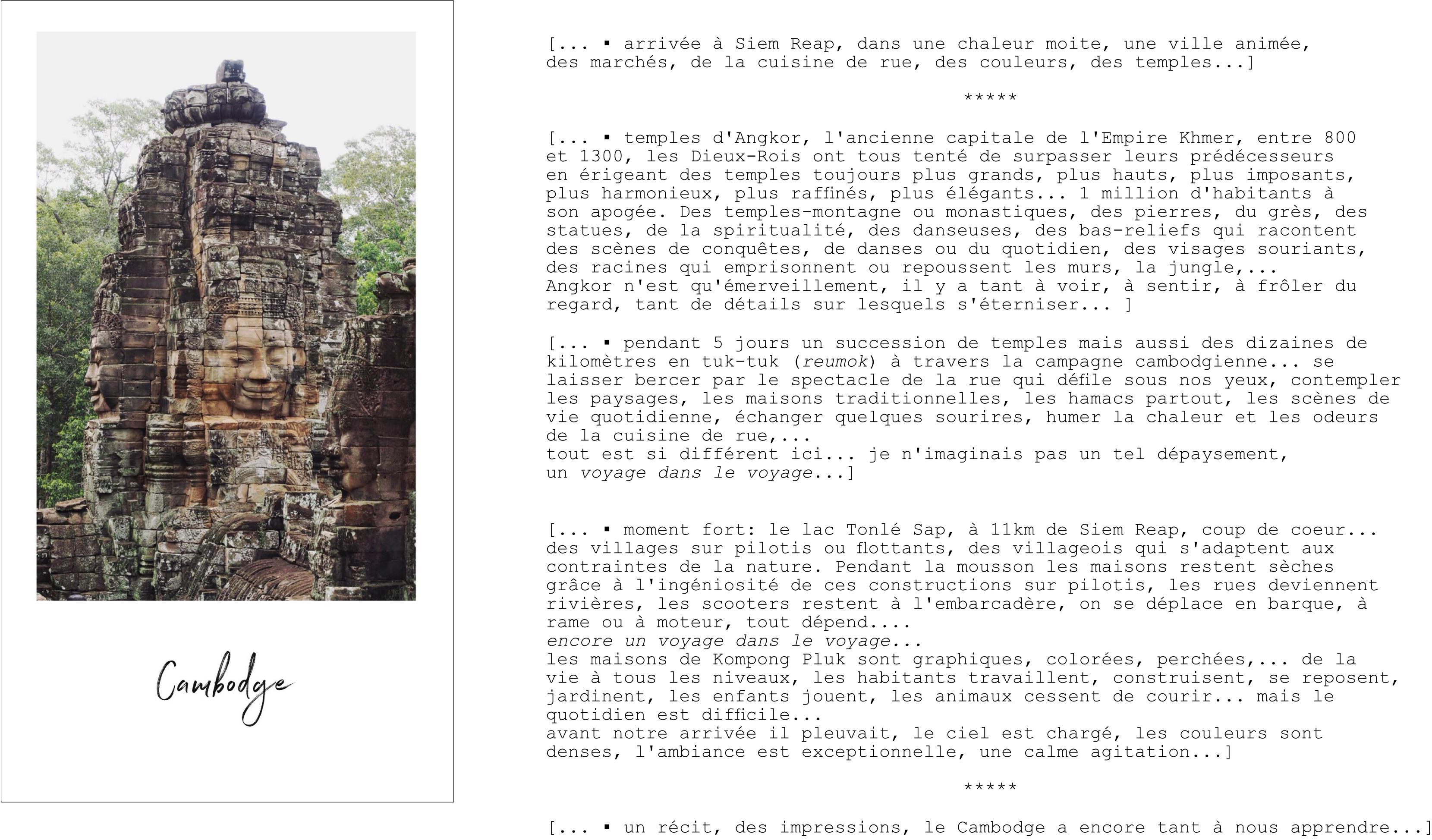 découvrir le cambodge - que voir au cambodge - visiter le cambodge - siem reap