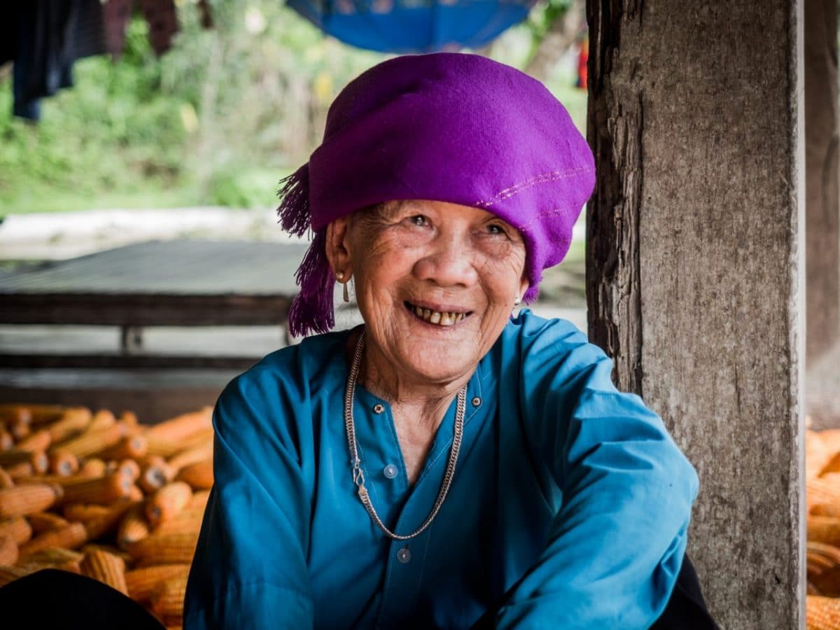 photo vietnam femme -montagne vietnam nord-riziere nord vietnam-ethnies minoritaires du vietnam-