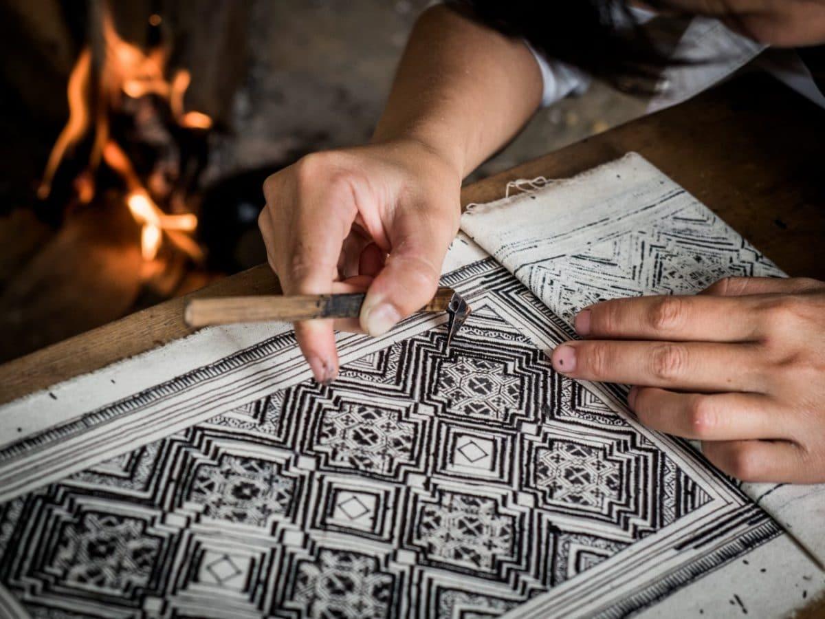 voyage vietnam blog-Batik-ethnie vietnam