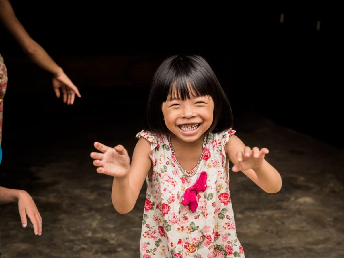 vietnam nord-portrait petite fille vietnam-ethnies minoritaires du vietnam