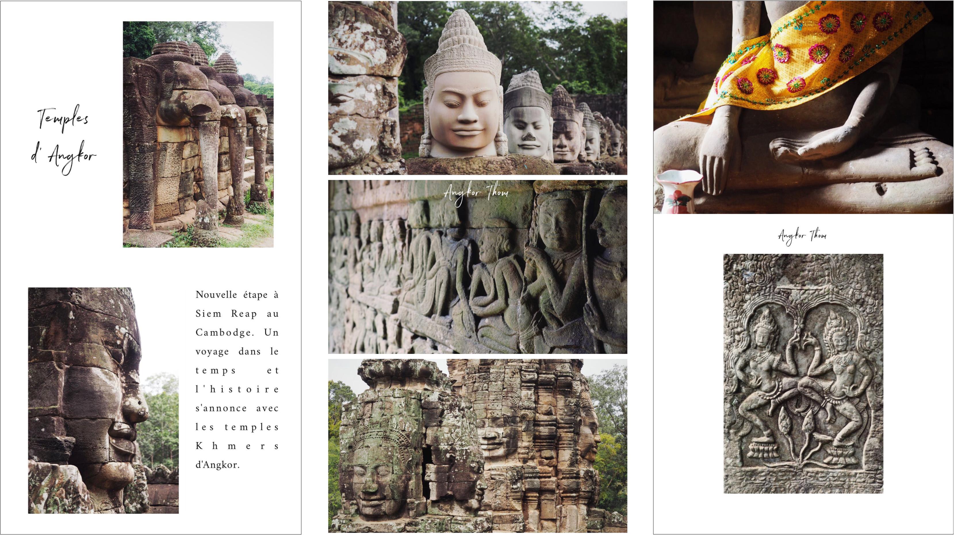 découvrir les temples d'angor - cambodge