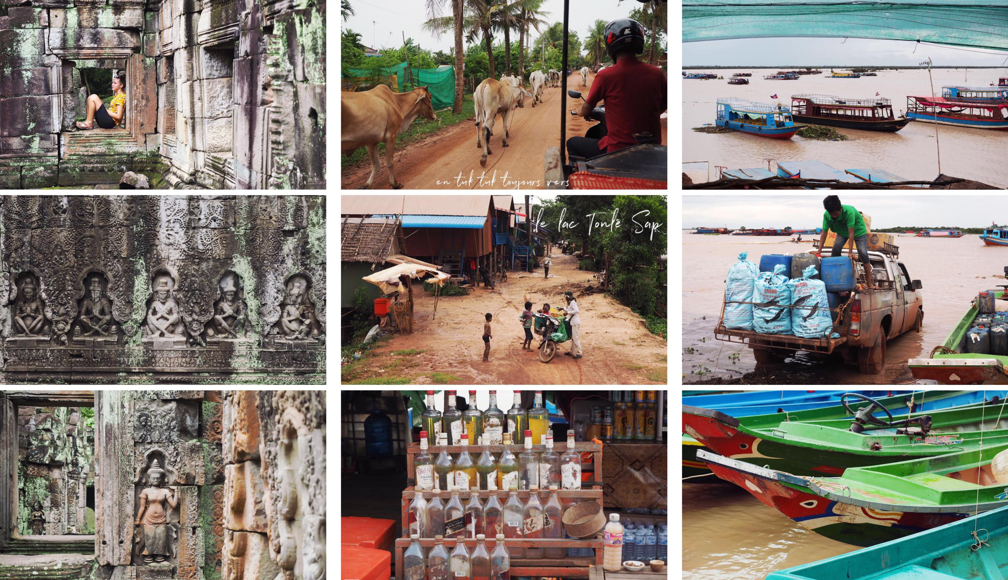 visiter le lac tonlé sap - cambodge - siem reap