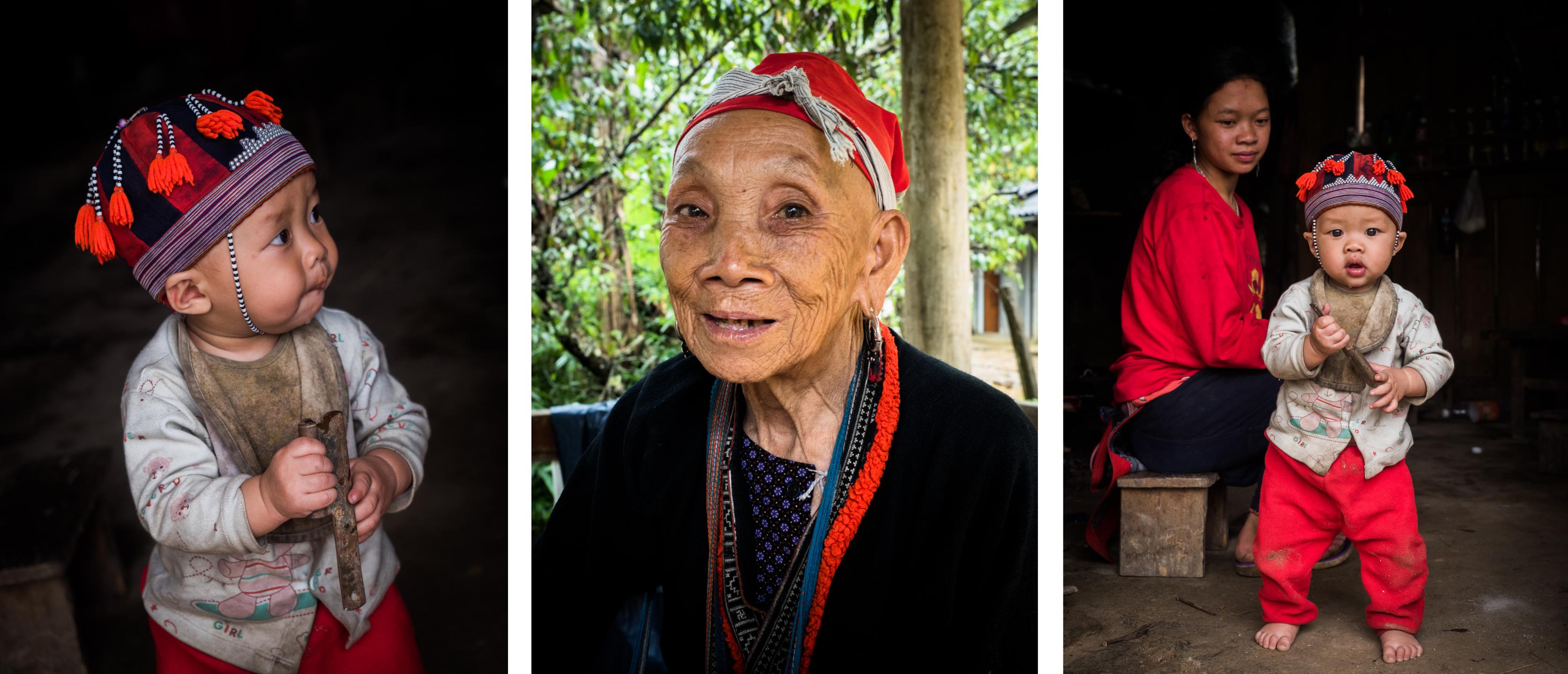 dzao rouges - découvrir le nord du vietnam - ethnies minoritaires