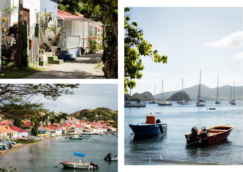 les saintes - guadeloupe - plus belle baie du monde - plages paradisiaques des saintes - caraïbes - pain de sucre