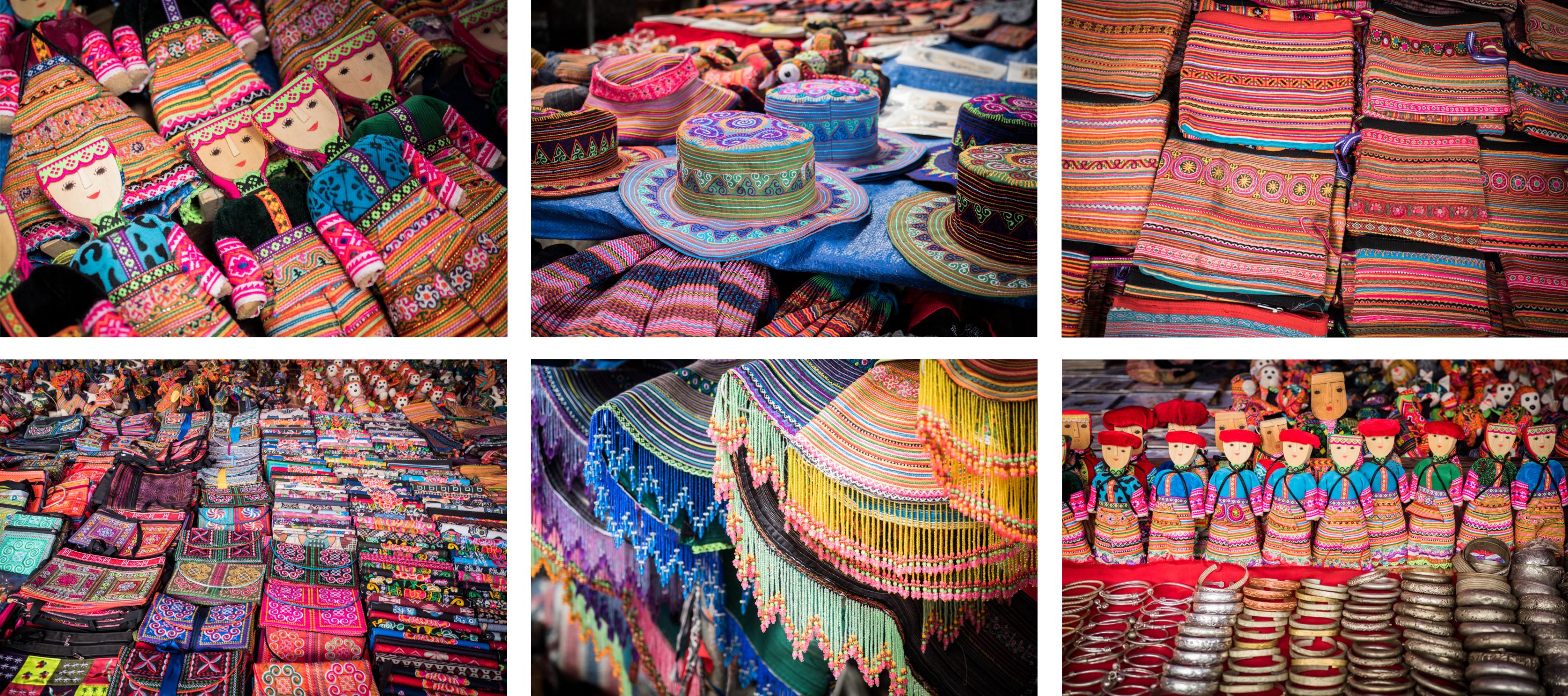 vietnam - ethnies minoritaire - bac ha market