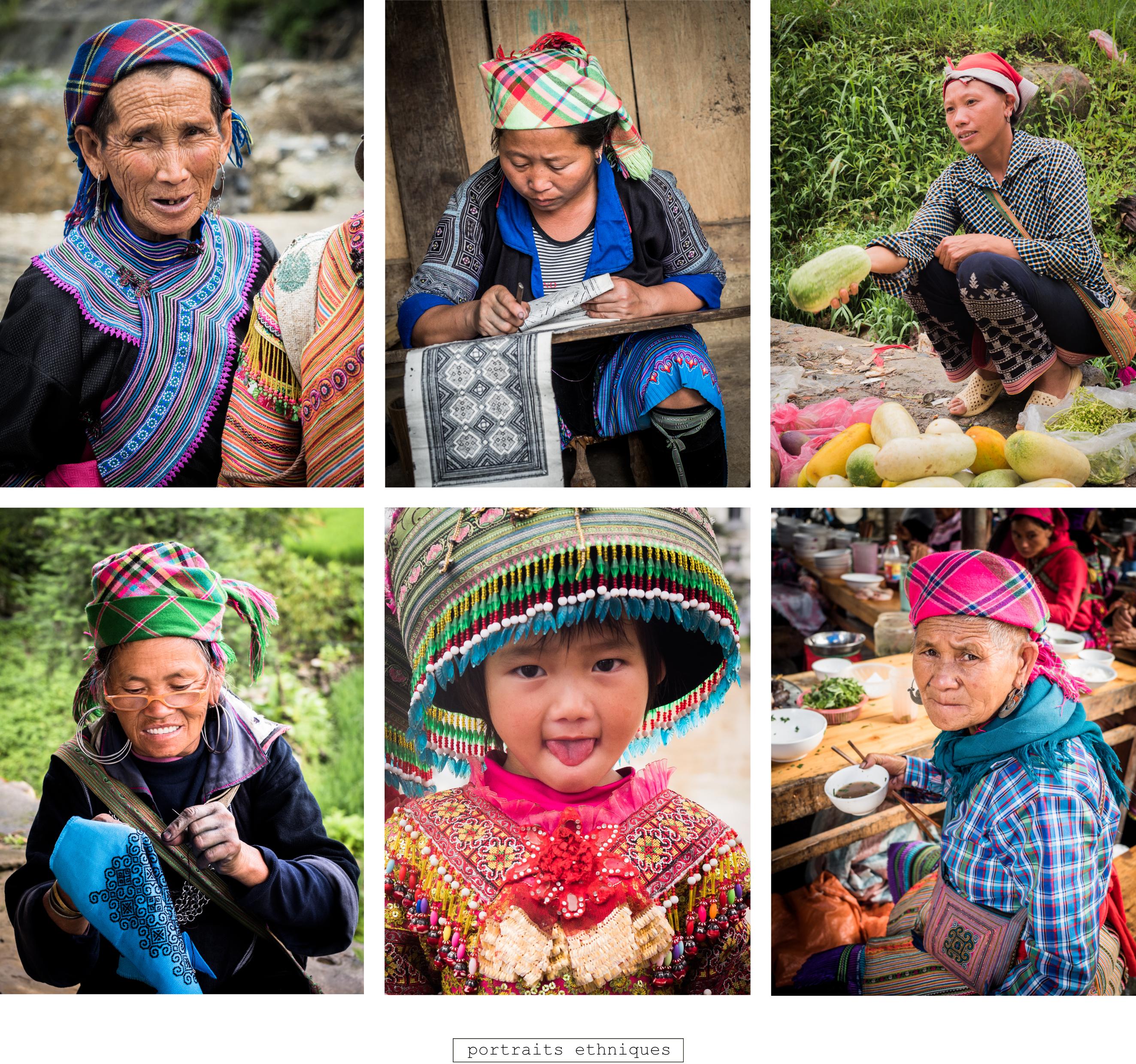 vietnam - asie - visiter le nord du vietnam - ethnies minoritaires