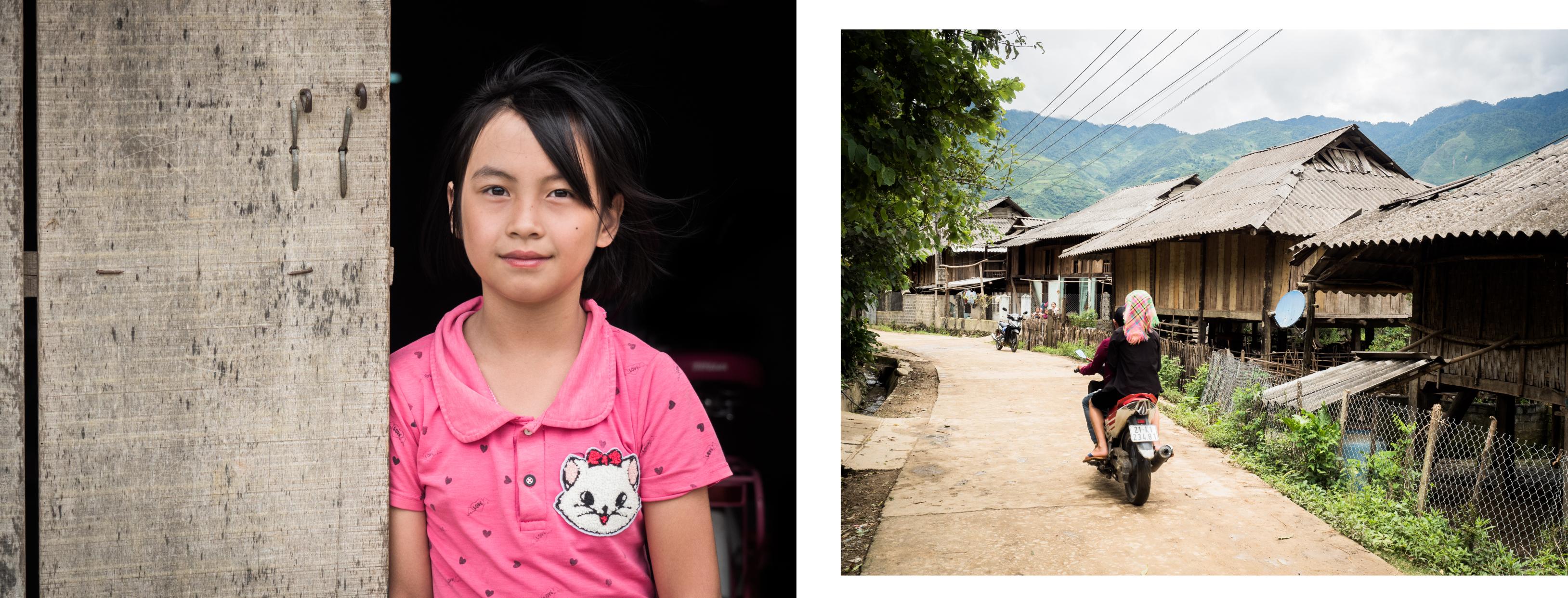 vietnam - ethnies minoritaire - portrait-rizières