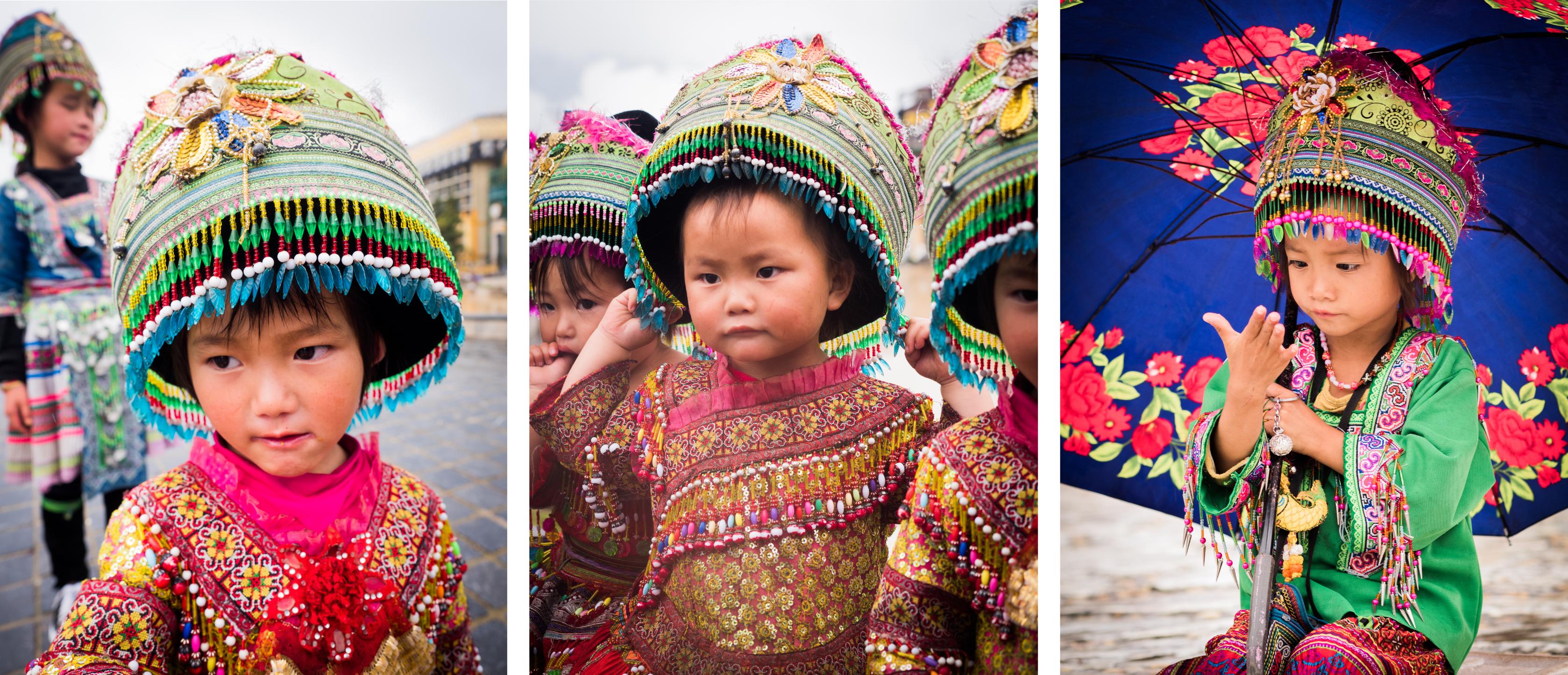 sapa, vietnam - ethnie minoritaire - sapa - portraits