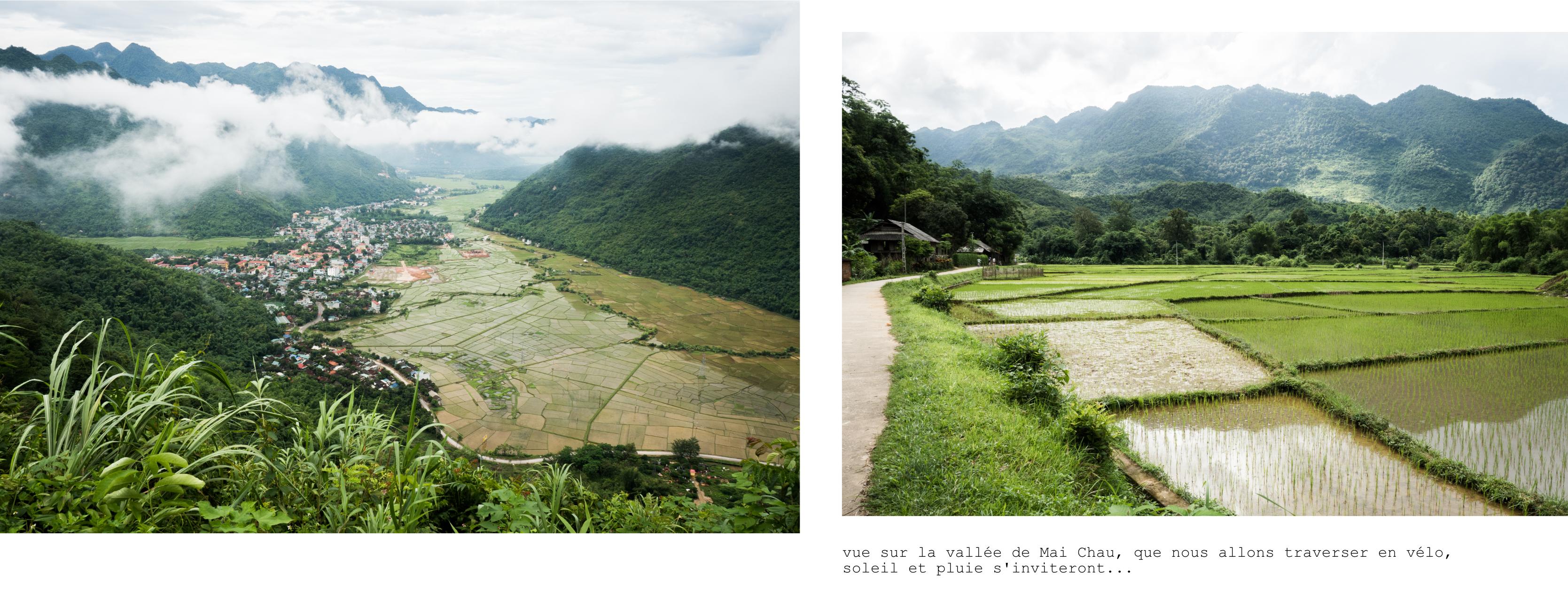 vietnam - ethnies minoritaire - rizières - vallée de mai chau