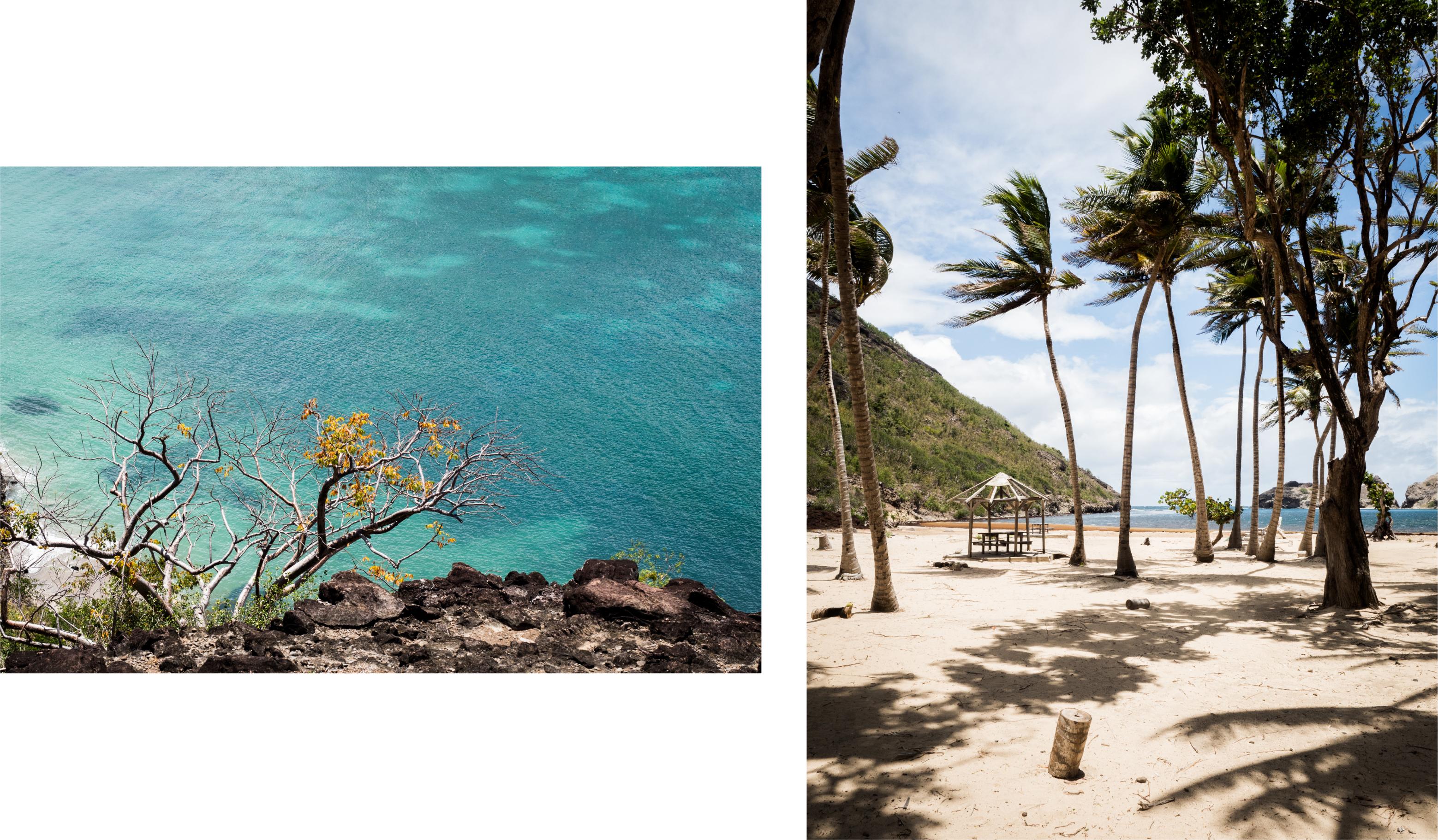 les saintes - guadeloupe - plus belle baie du monde - plages paradisiaques des saintes - caraïbes - pompiere