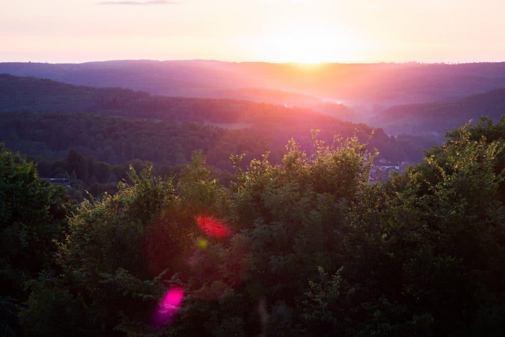 Alsace-weekend alsace-montagne des vosges-crépuscule Montagne Alsace-