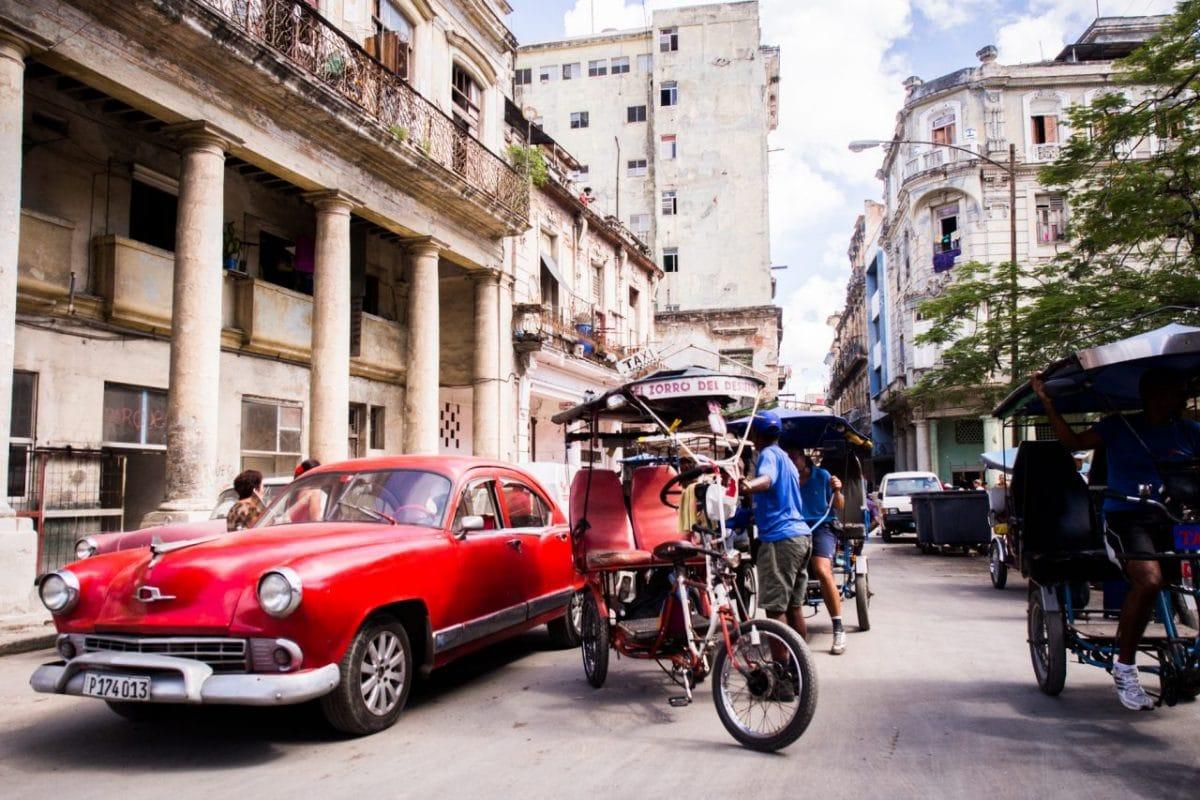 voyage la havane- voiture Cuba -cuba voitures anciennes