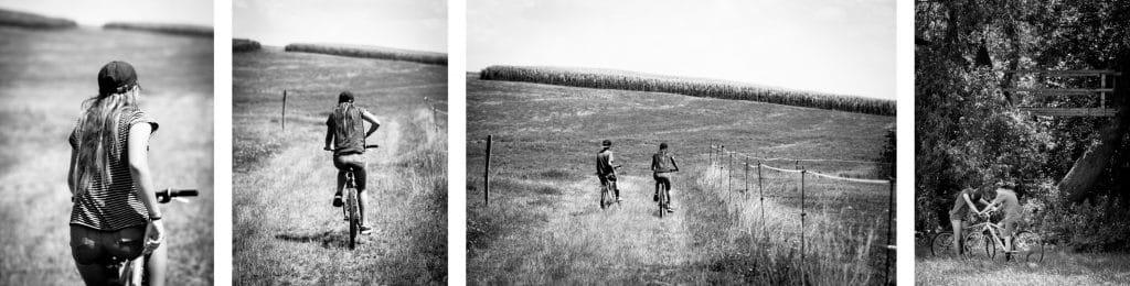 alsace a velo-faire du velo en alsace-velo alsace- photo d'Alsace noir et blanc