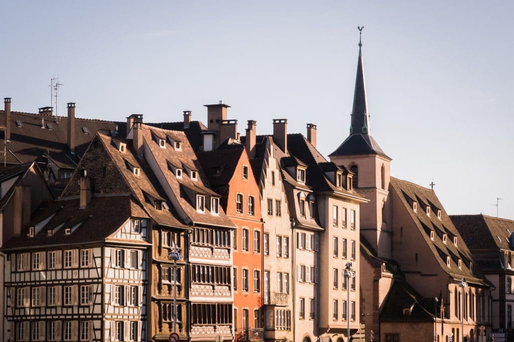 alsace, strasbourg, architecture, colombages