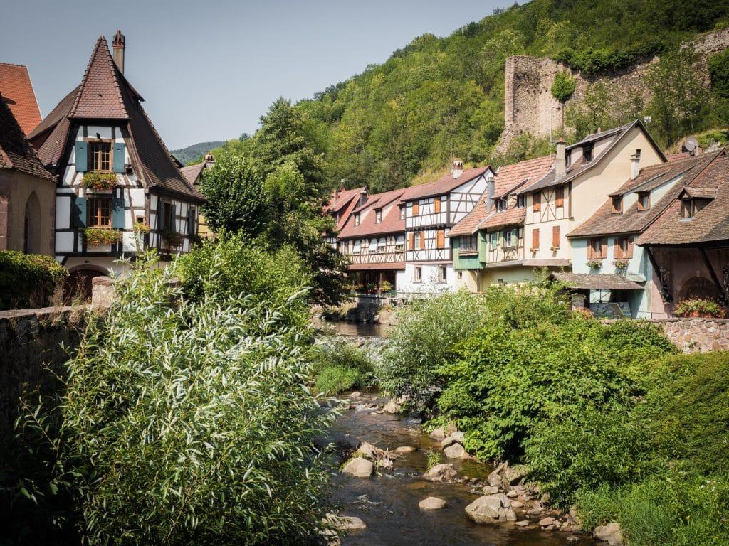 beau village alsace- plus beau village d alsace - village typique alsace-alsace village a visiter-kaysersberg, route des vins, vosges