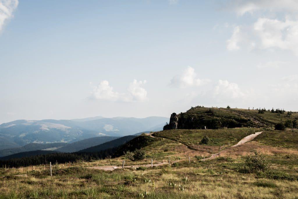 alsace, vosges, route des crêtes, montagne