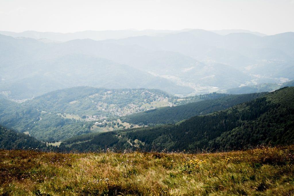 la route des cretes-montagne vosges-montagne des vosges