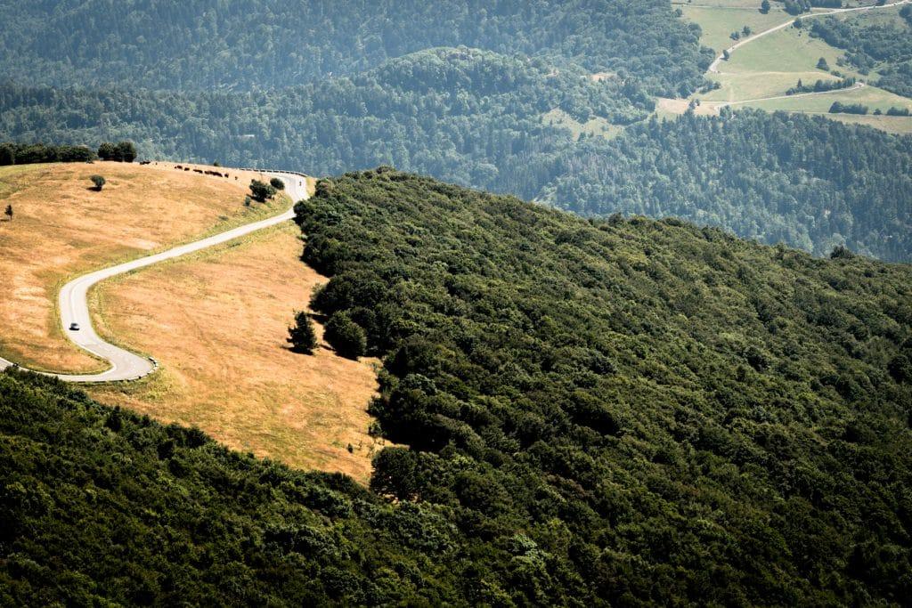route des cretes- ballon d'alsace-vosges montagne-vosges paysage-photos alsace vosges