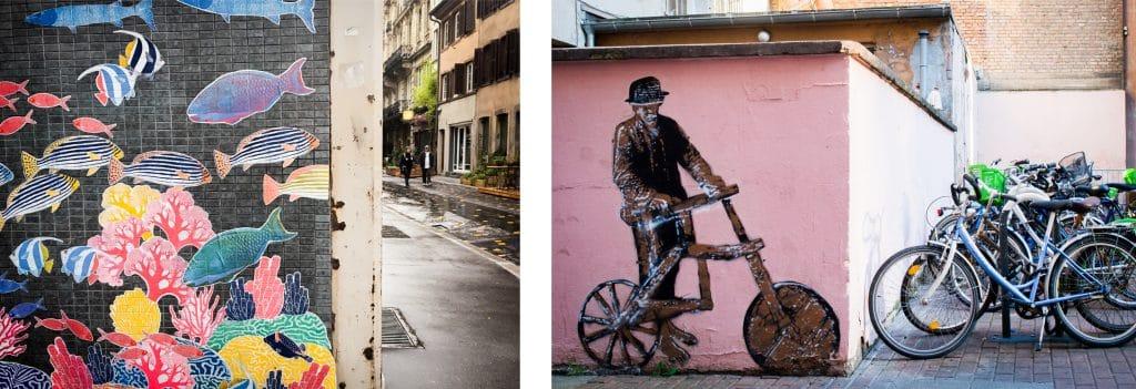 alsace a velo- velo alsace- faire du velo strasbourg - architecture, colombages, street art