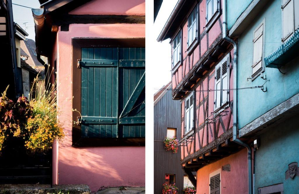 beau village alsace- plus beau village d alsace - village typique alsace-alsace village a visiter- vosges, route des vins, vignobles, eguisheim