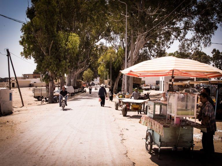 le marché tunisien - Tunisie - Un marché de village en Tunisie